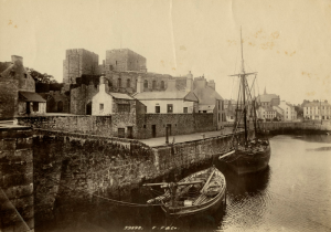 Castletown Harbour (Courtesy of Manx National Heritage, PG/4027/74)