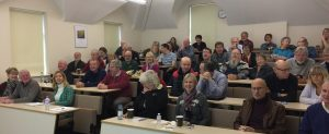 An audience of around 60 people joined us on the first Saturday of December to hear eleven paper about Manx history and heritage.