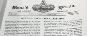 Mona's Herald Demands for Political Reforms