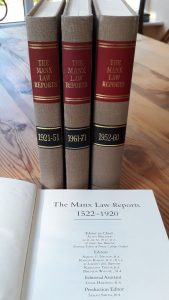 The Manx Law Reports